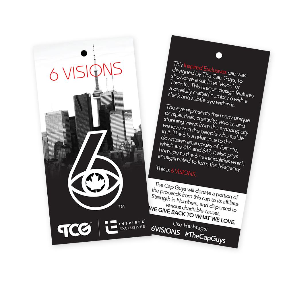 6 Visions Hang Tags