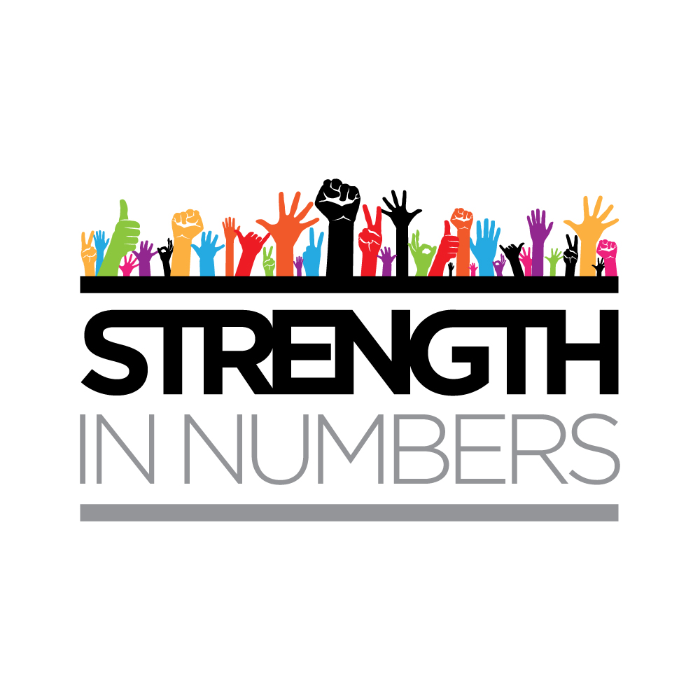 Strength In Numbers - The Cap Guys - Logo