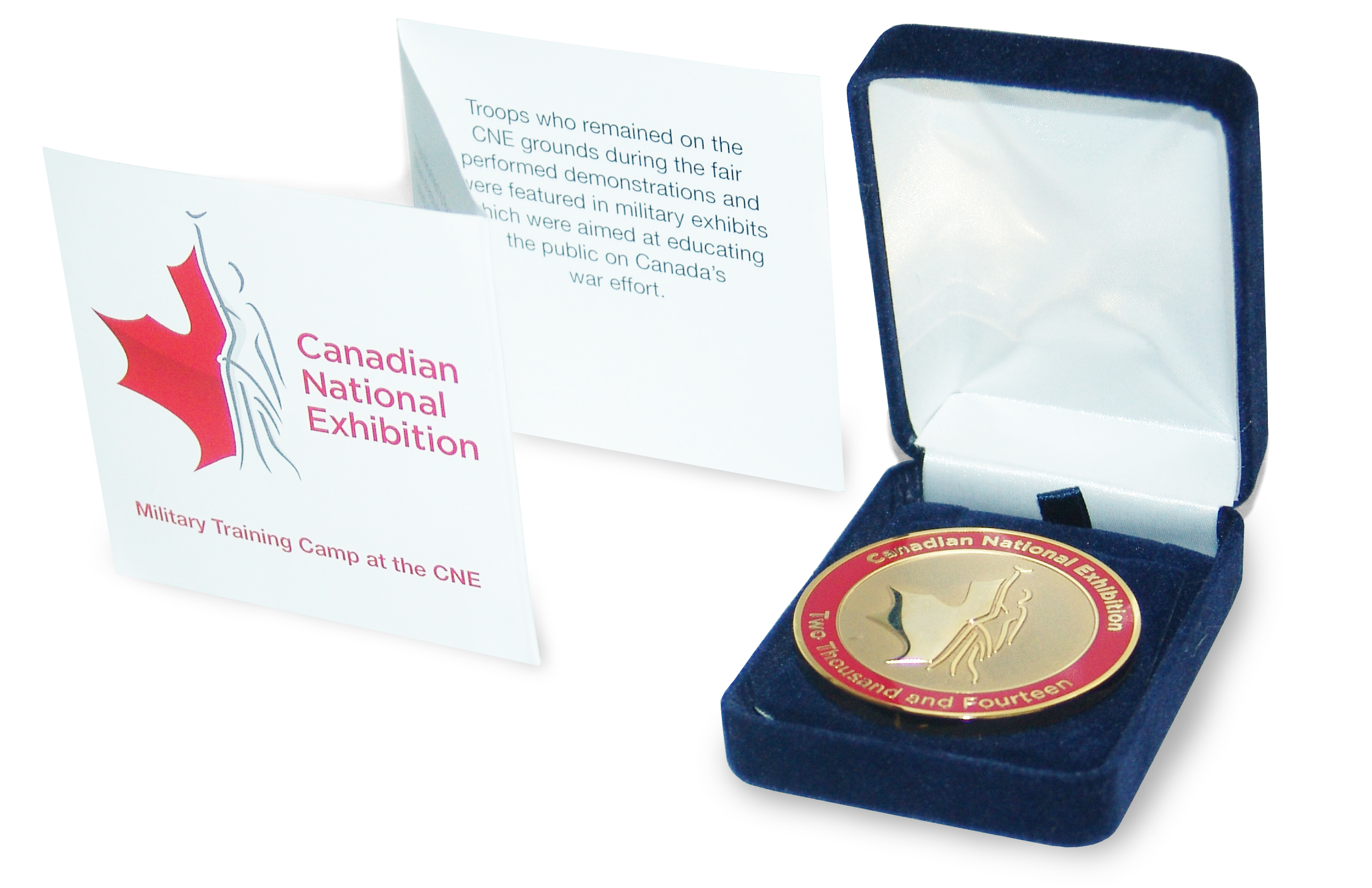 CNE Medal Case