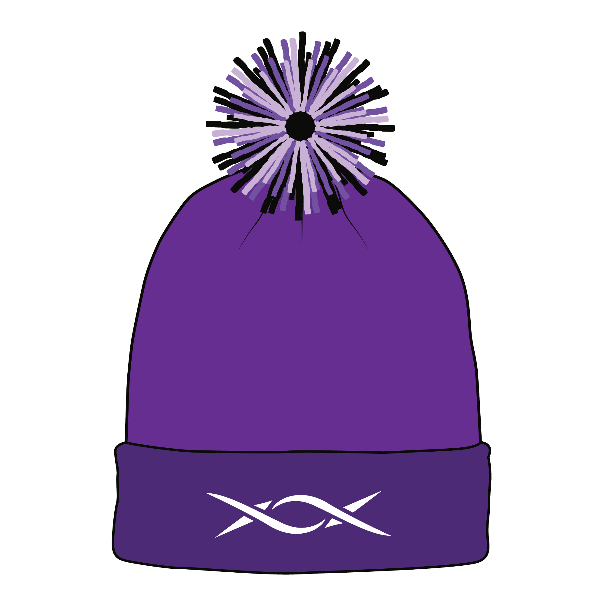 Beanie, Toque, Knit and Winter Hat Template Sample Mock Up