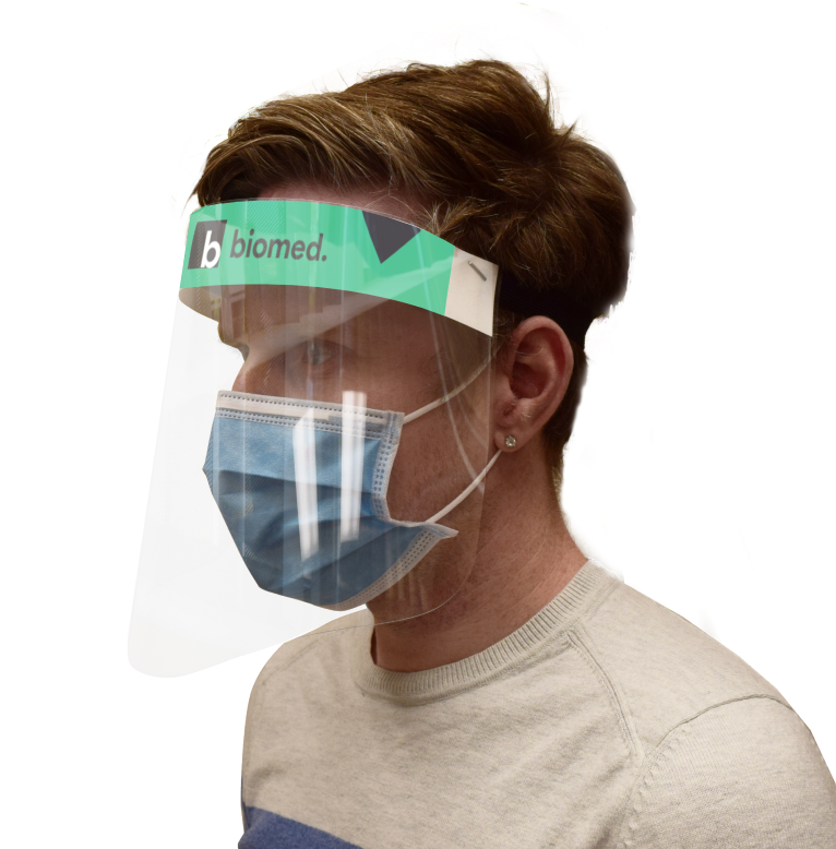 COVID-19 Branded Face Shields