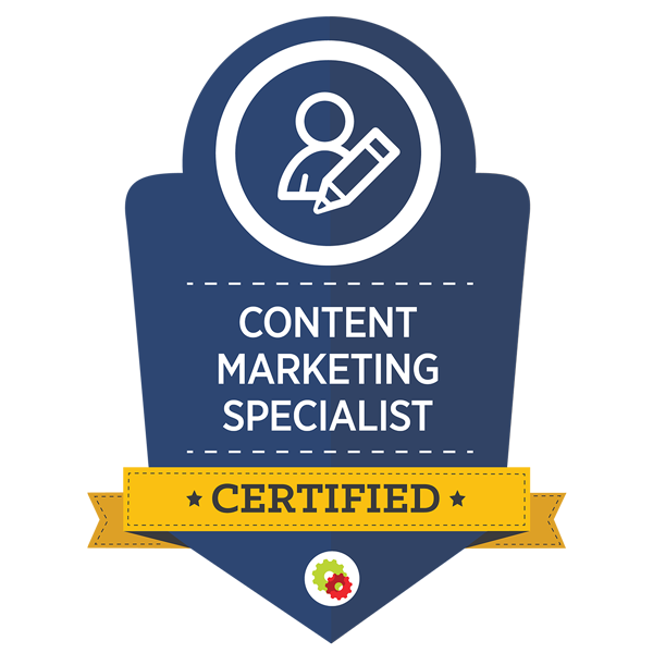 Content Marketing Badge - Digital Marketer