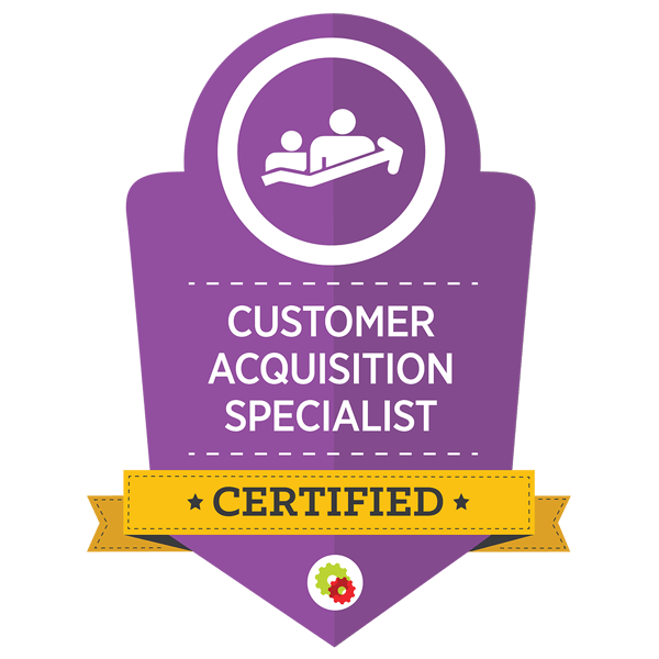 Customer Acquisition Badge - Digital Marketer
