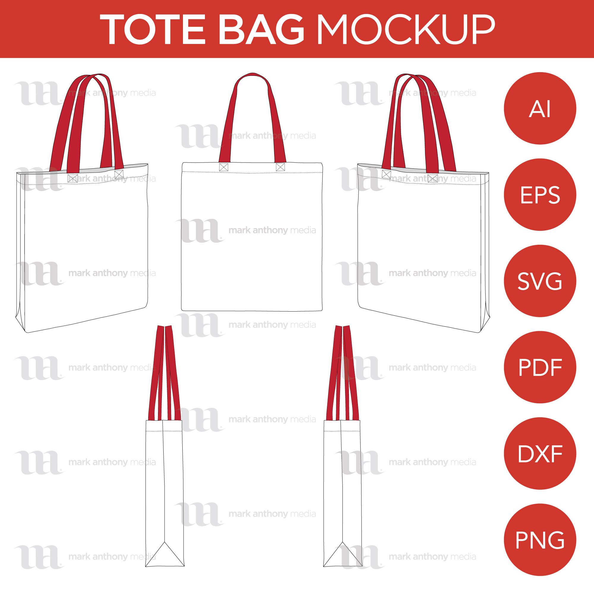 Tote Bag Template Sample Mock Up Main Image