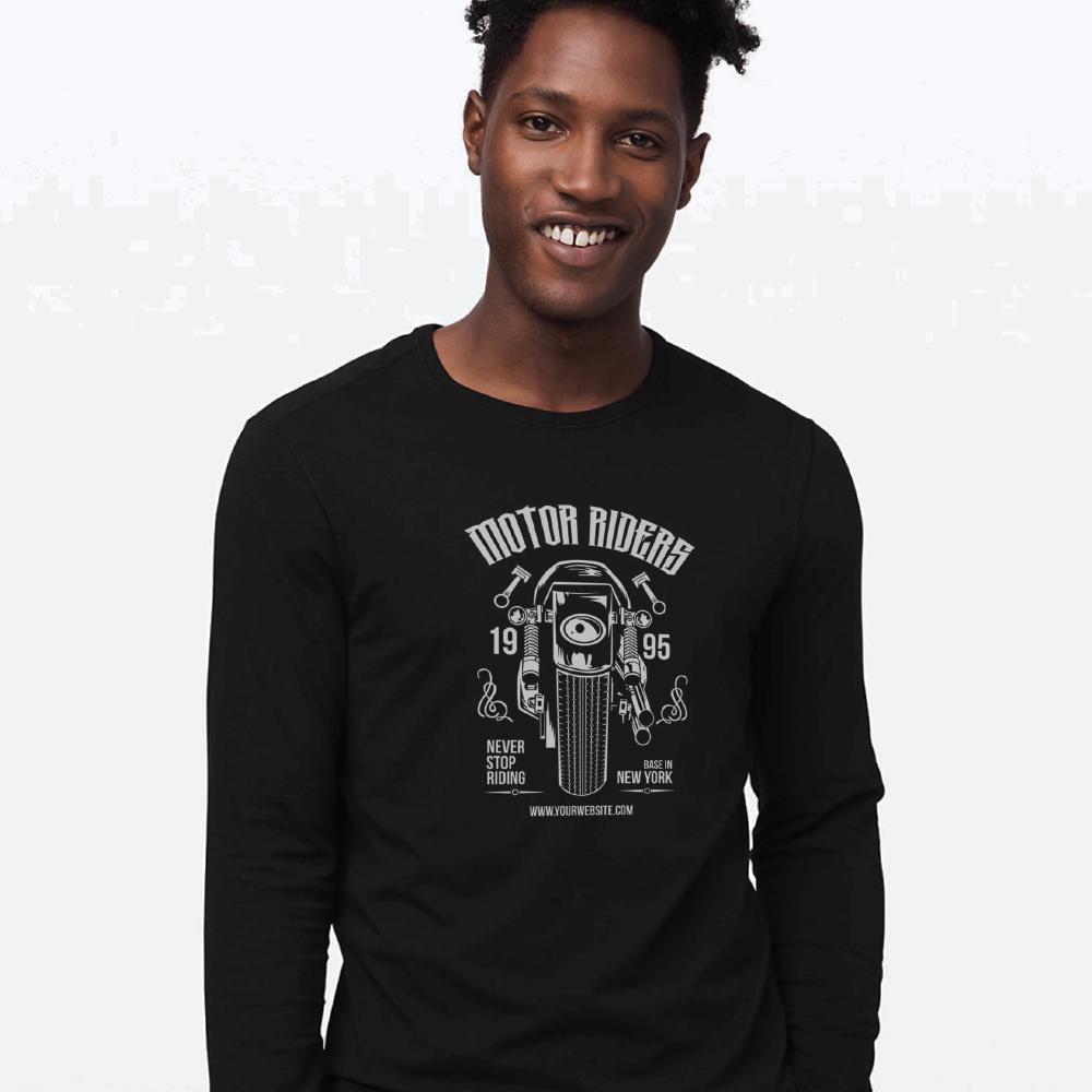 Custom Printed Apparel - Long Sleeve Shirts