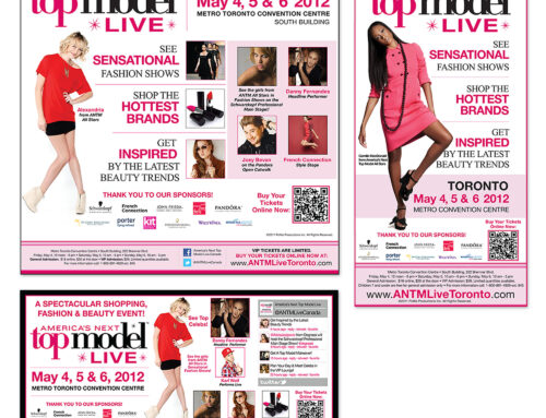 America's Next Top Model Show – Print Ads