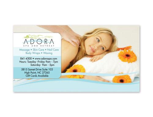 Adora Spa & Retreat – Print Ads