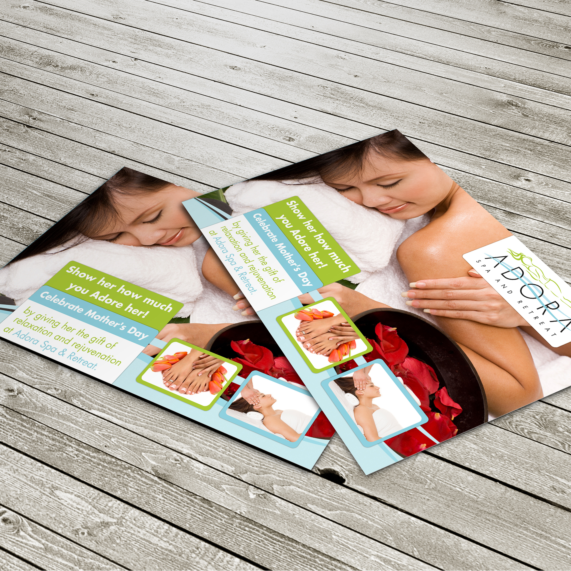 Adora Spa and Retreat - Flyers
