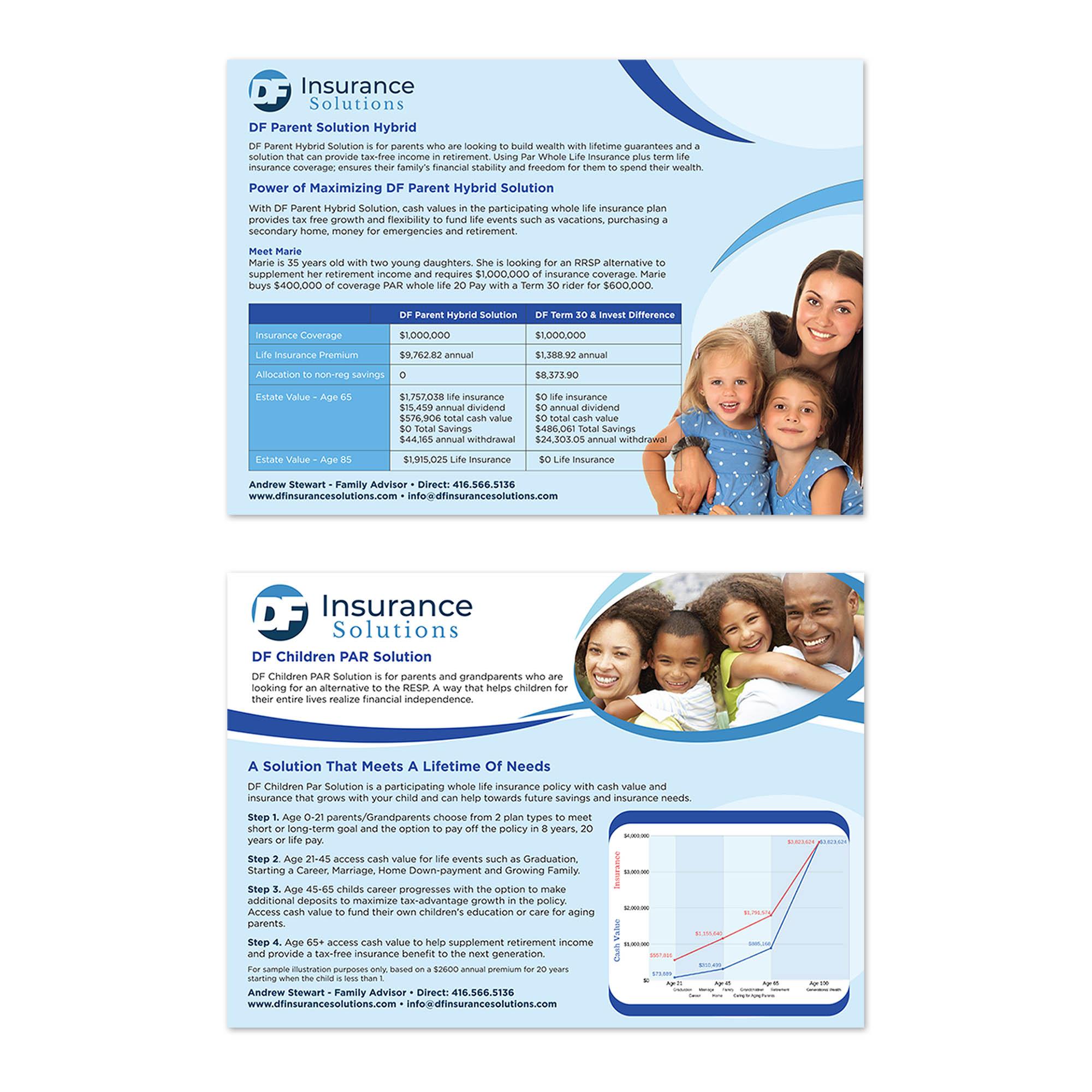 DF Financial Insurance - Flyers