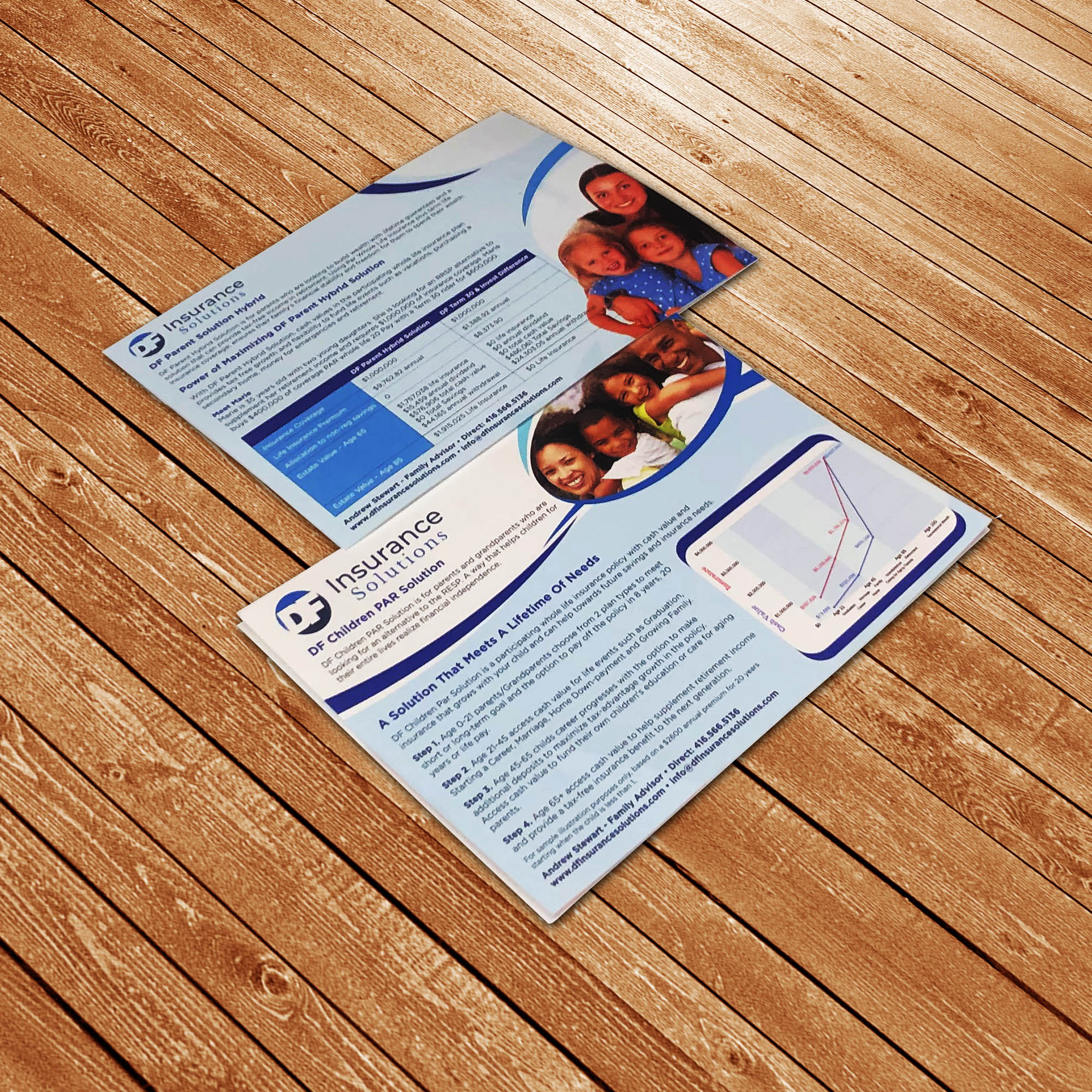 DF Financial Insurance - Flyers