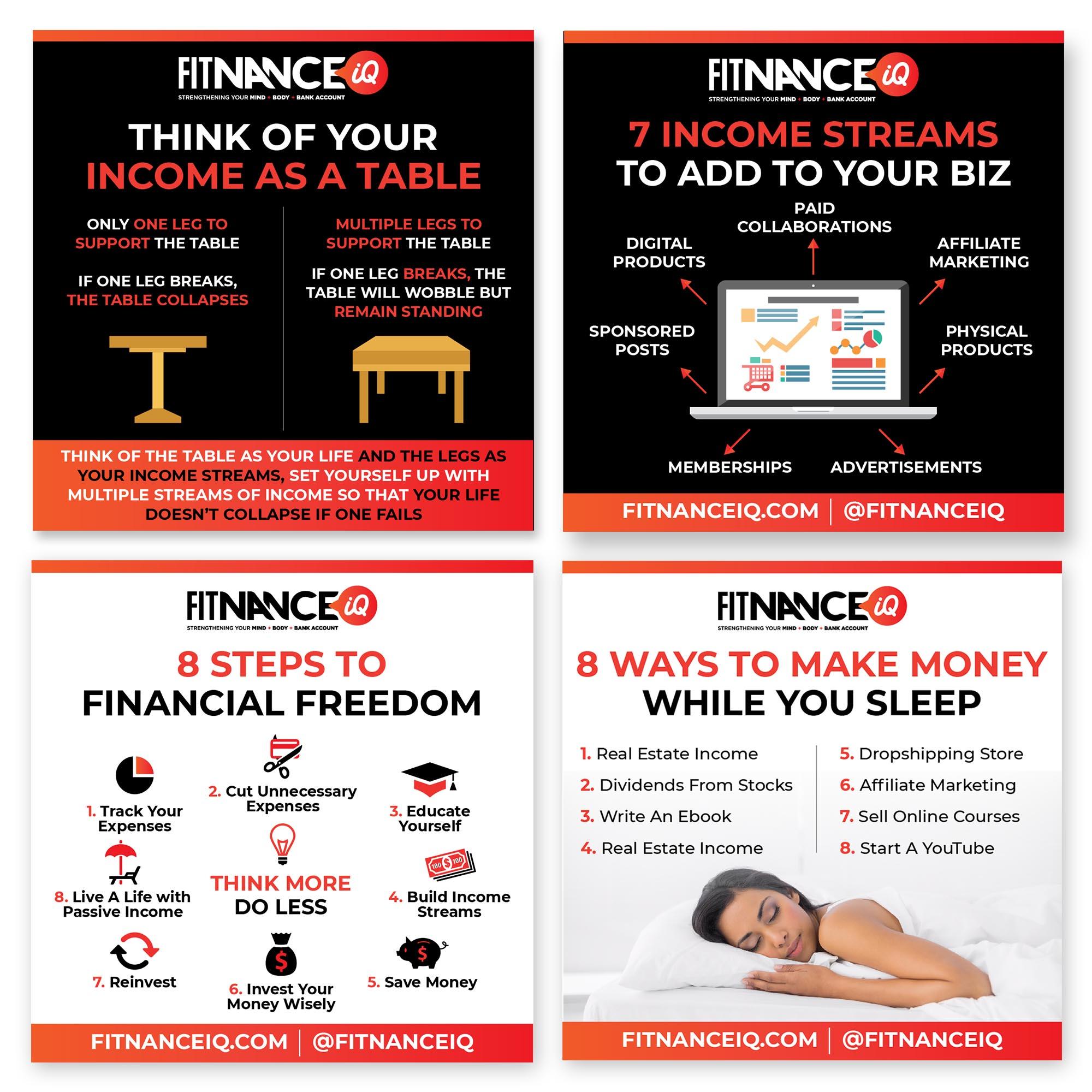 FitnanceIQ - Social Media Marketing