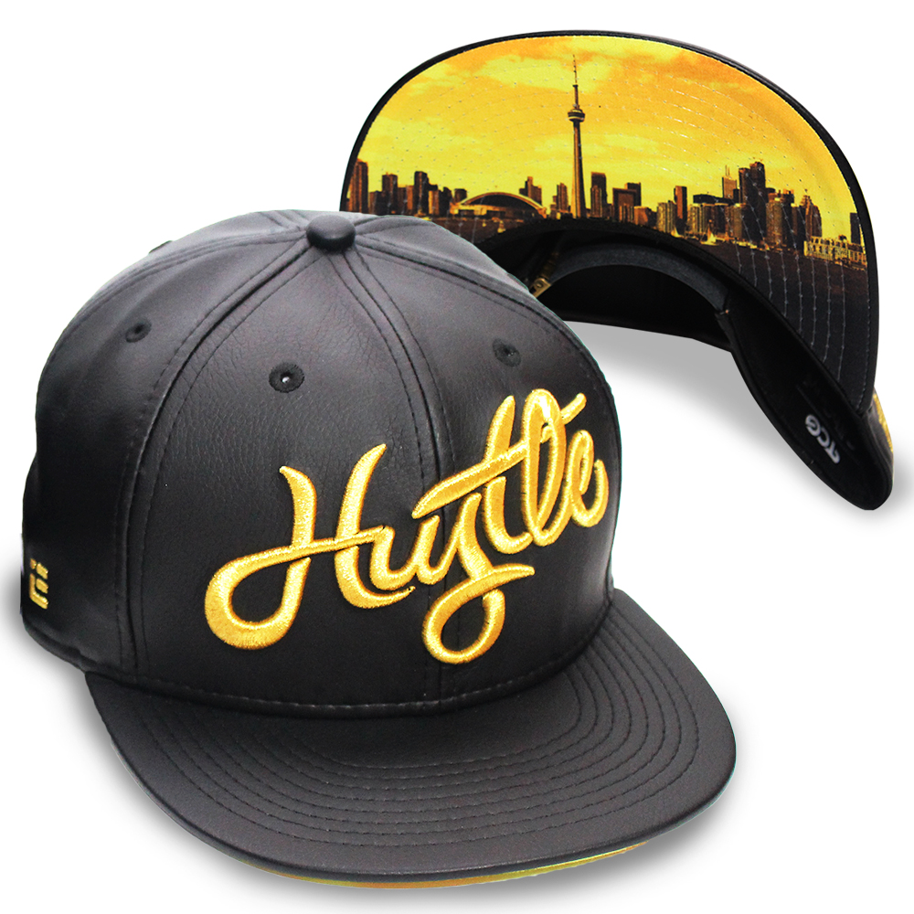 The Cap Guys Inspired Exclusives Hustle T.O. Hat Design