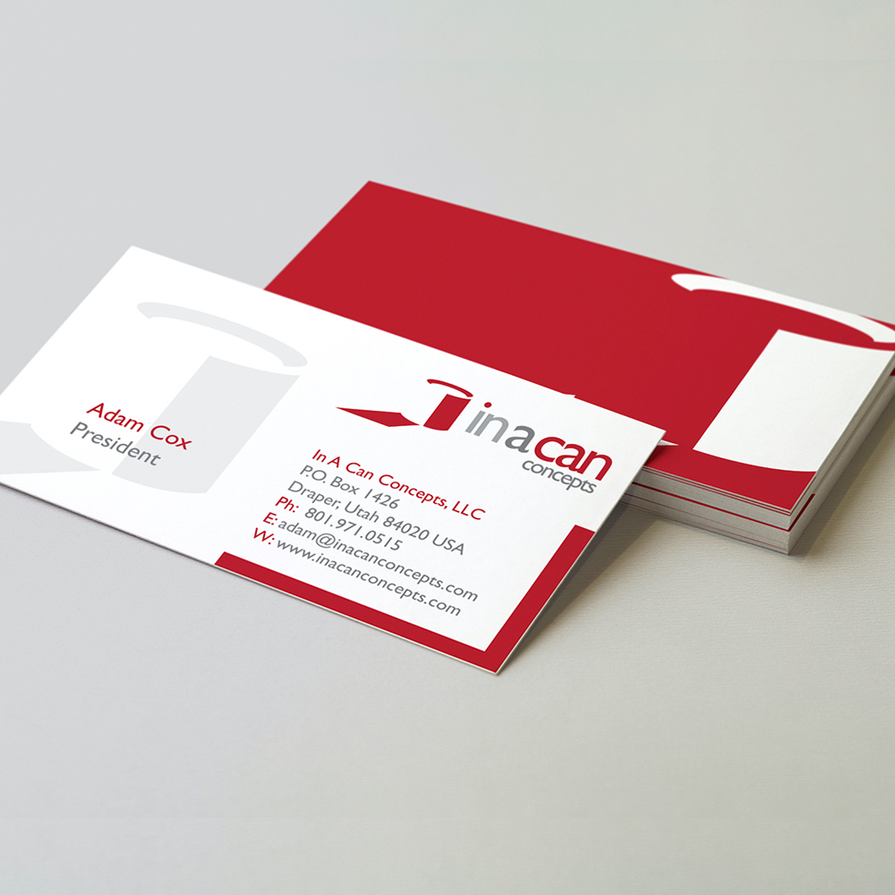 In A Can Concepts - Corporate Identity