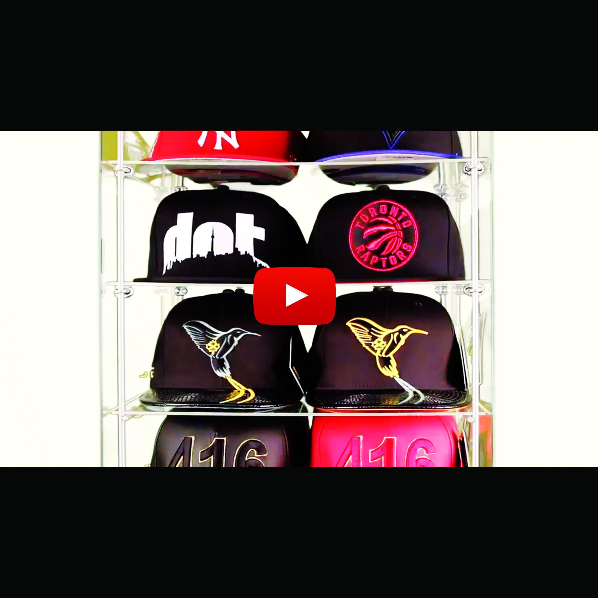 The Cap Guys - Retail Kiosks - Commercial Teaser