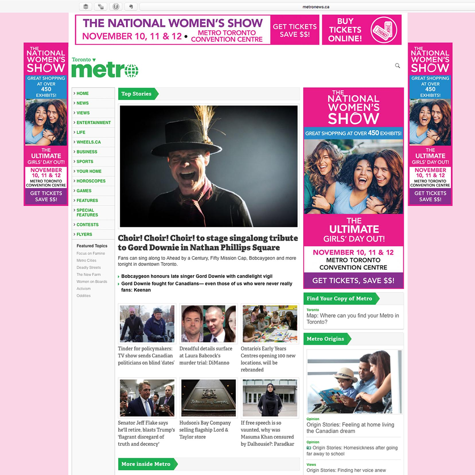 The National Women's Show - Digital Ads