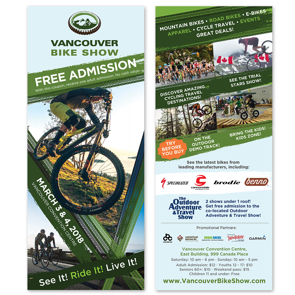Vancouver Bike Show - Flyers