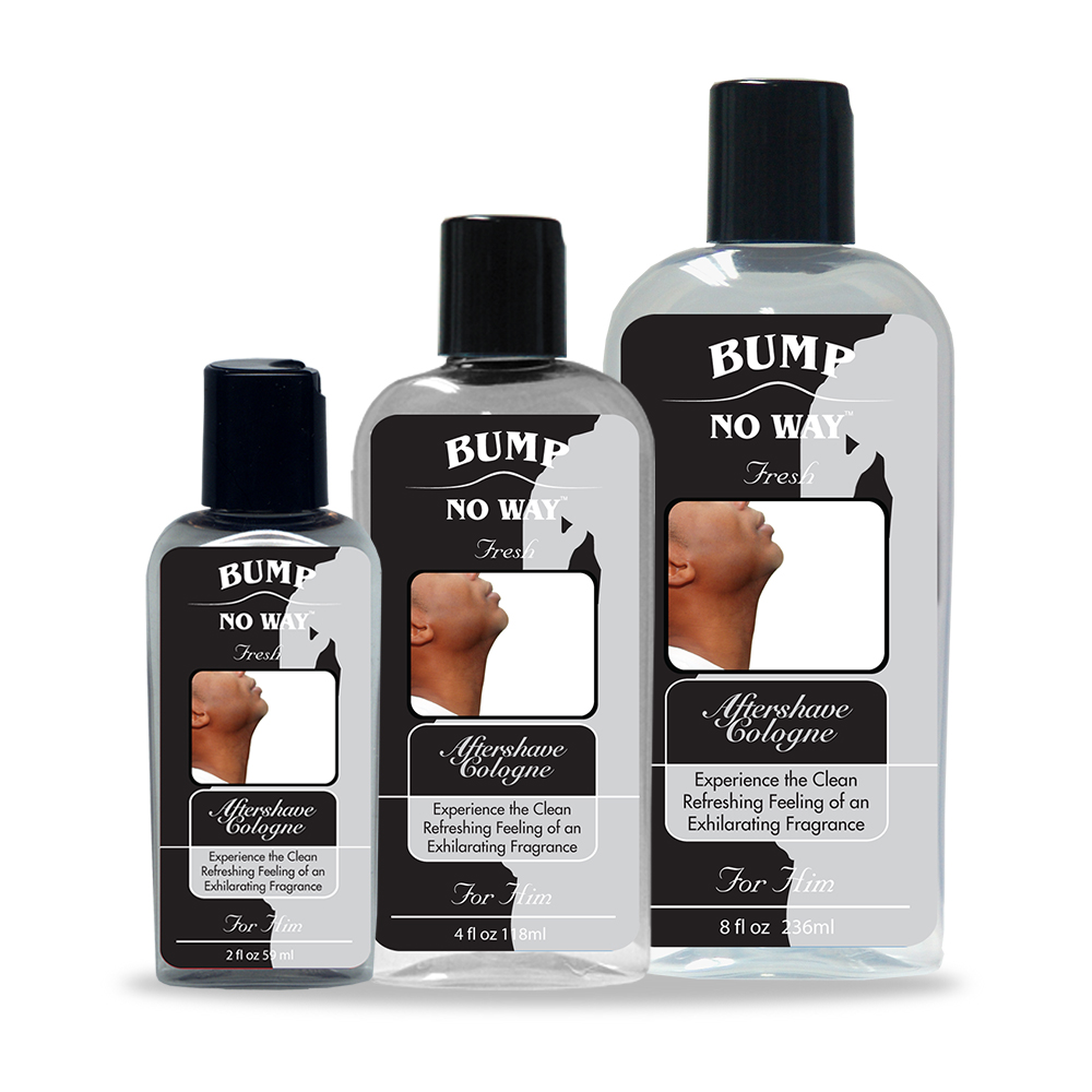 Bump No Way Aftershave Lotion and Cologne