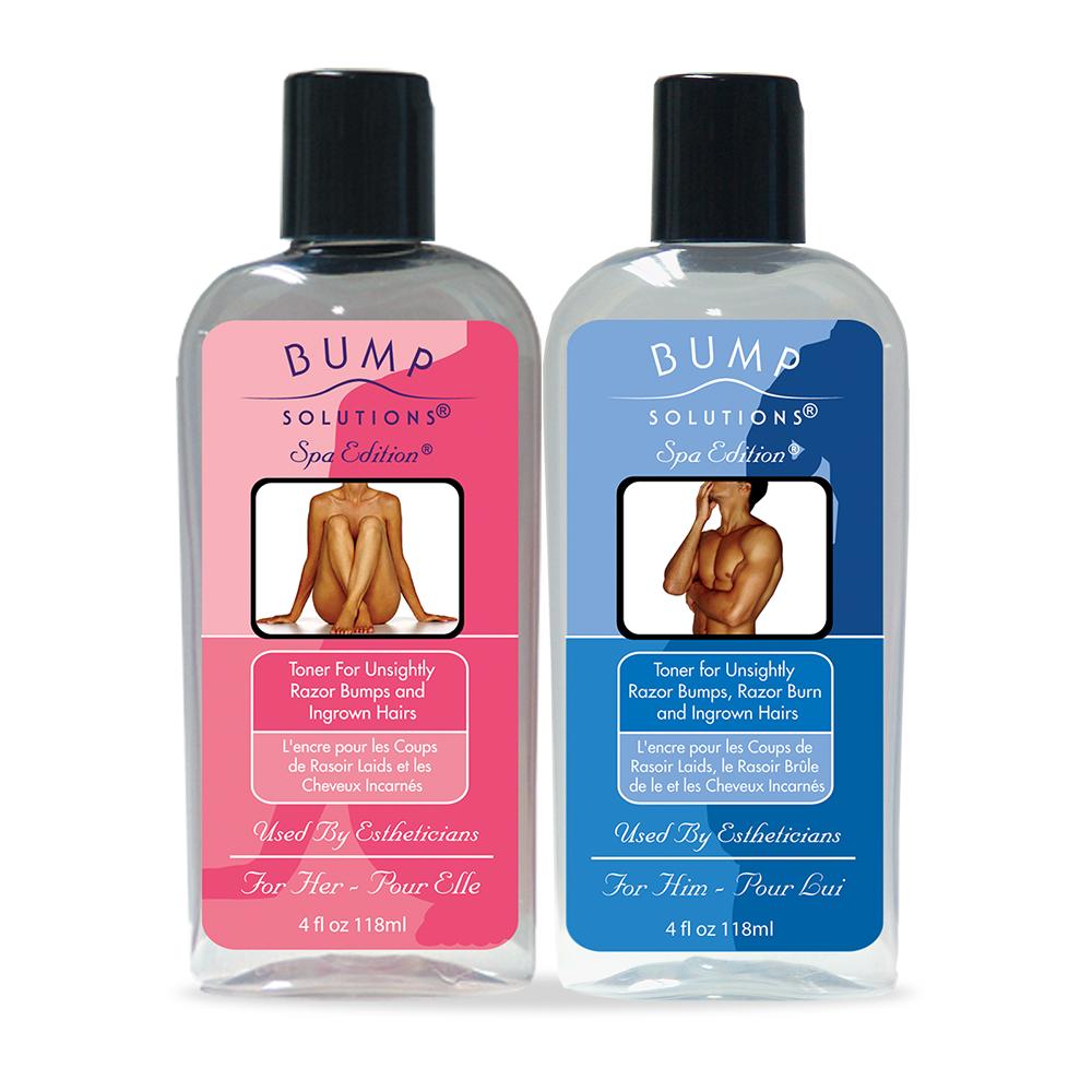 Bump Solutions - Bottles - Packaging