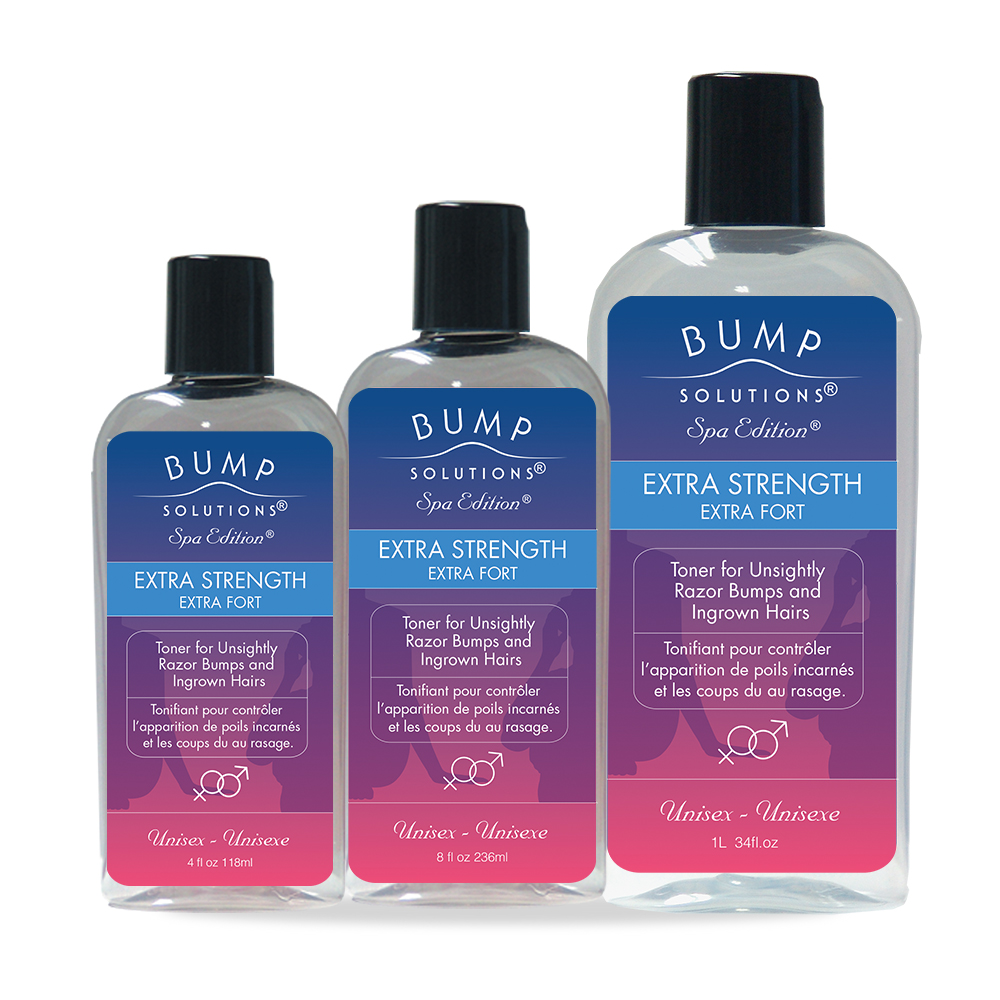 Bump Solutions - Spa Edition - Extra Strength - Toner for Him & Her