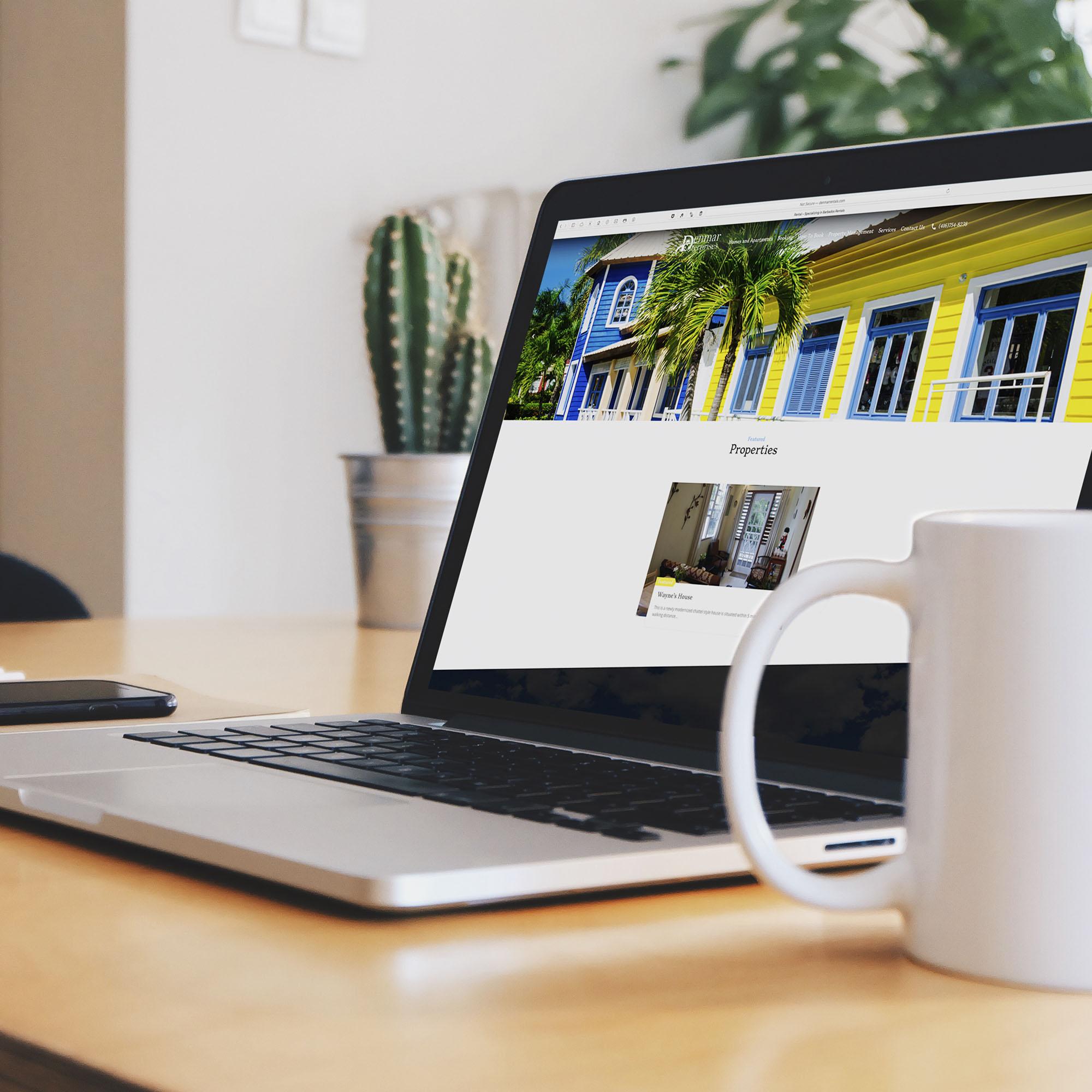 Denmar Rentals - Websites