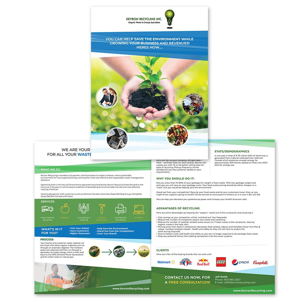 Kevron Recycling - Sales Kit