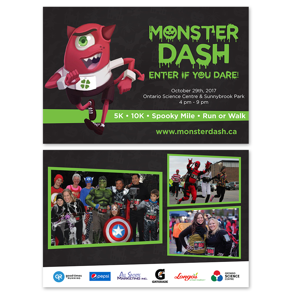 Monster Dash - Flyers