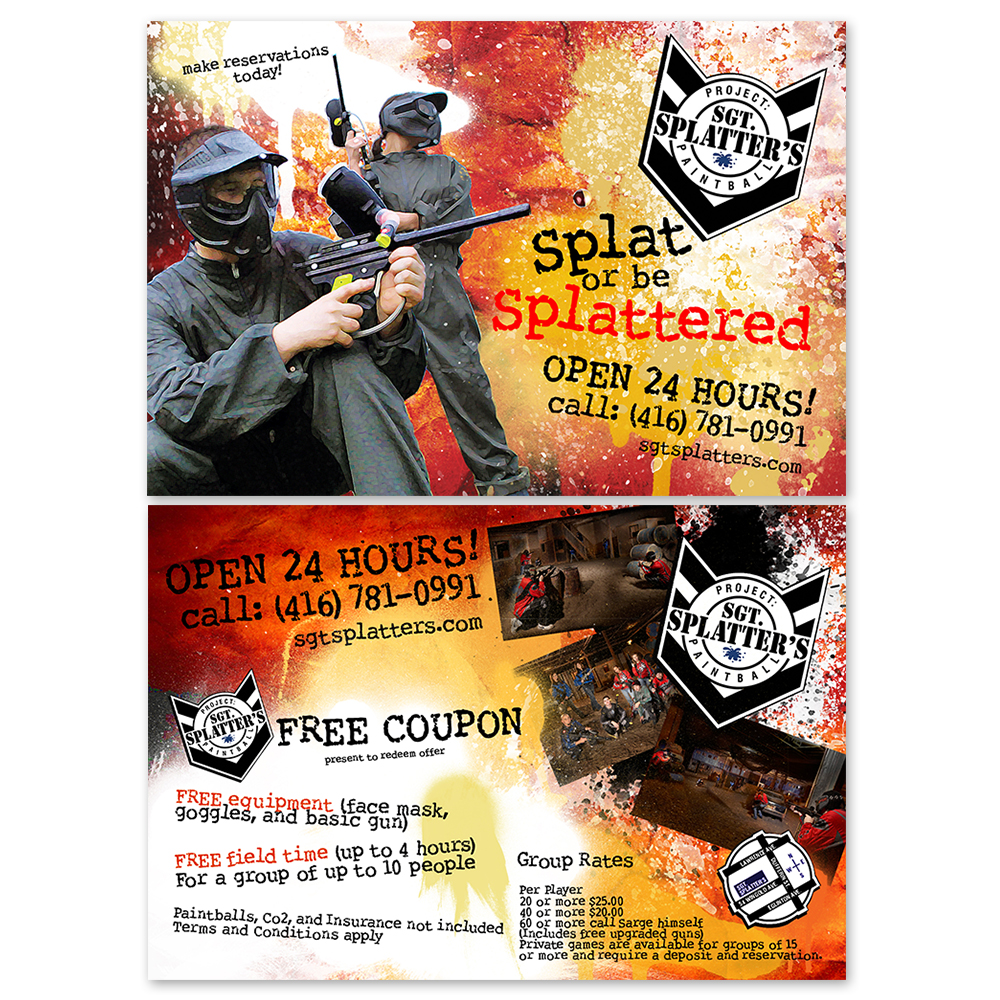 Sgt. Splatter - Flyers