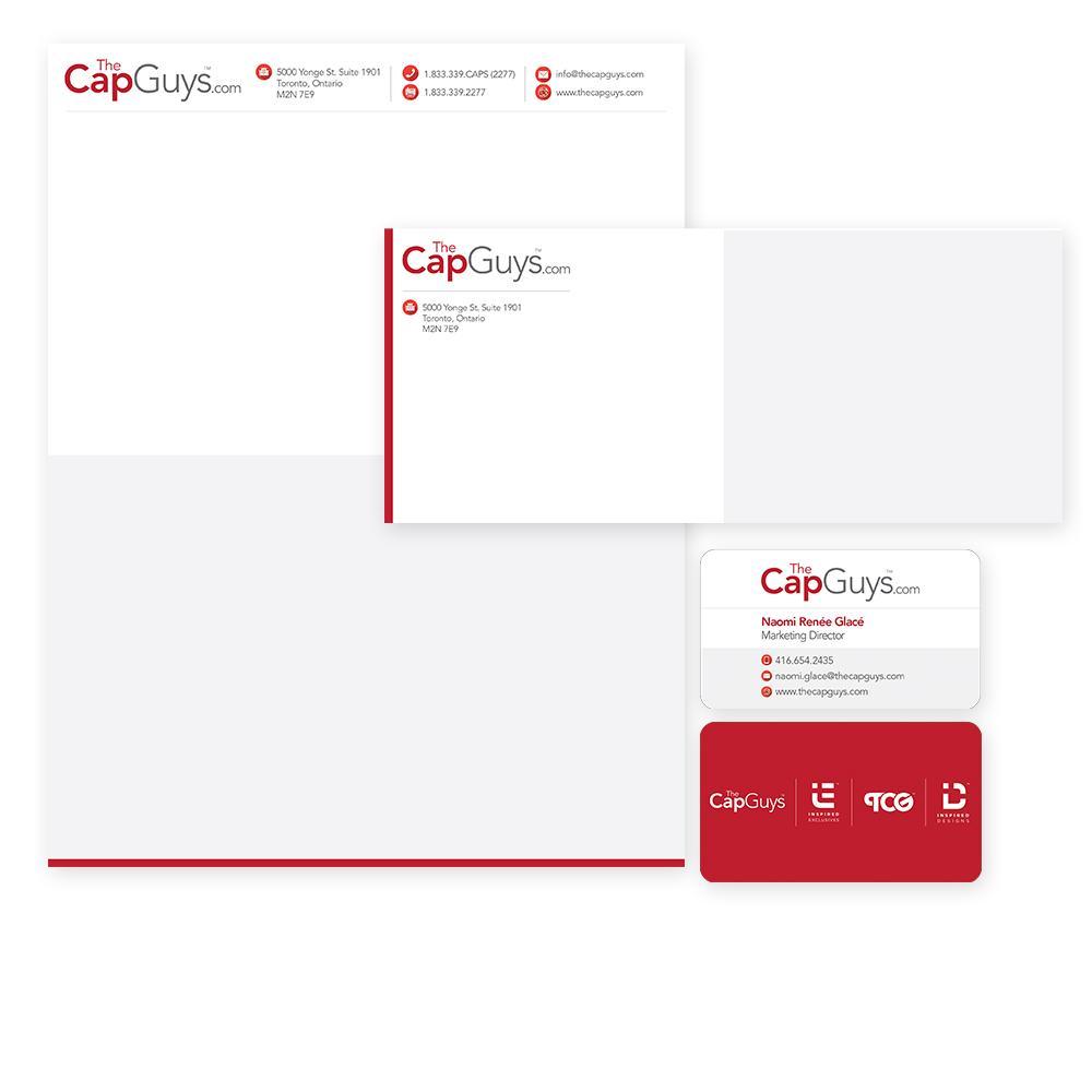 The Cap Guys - Corporate Identity
