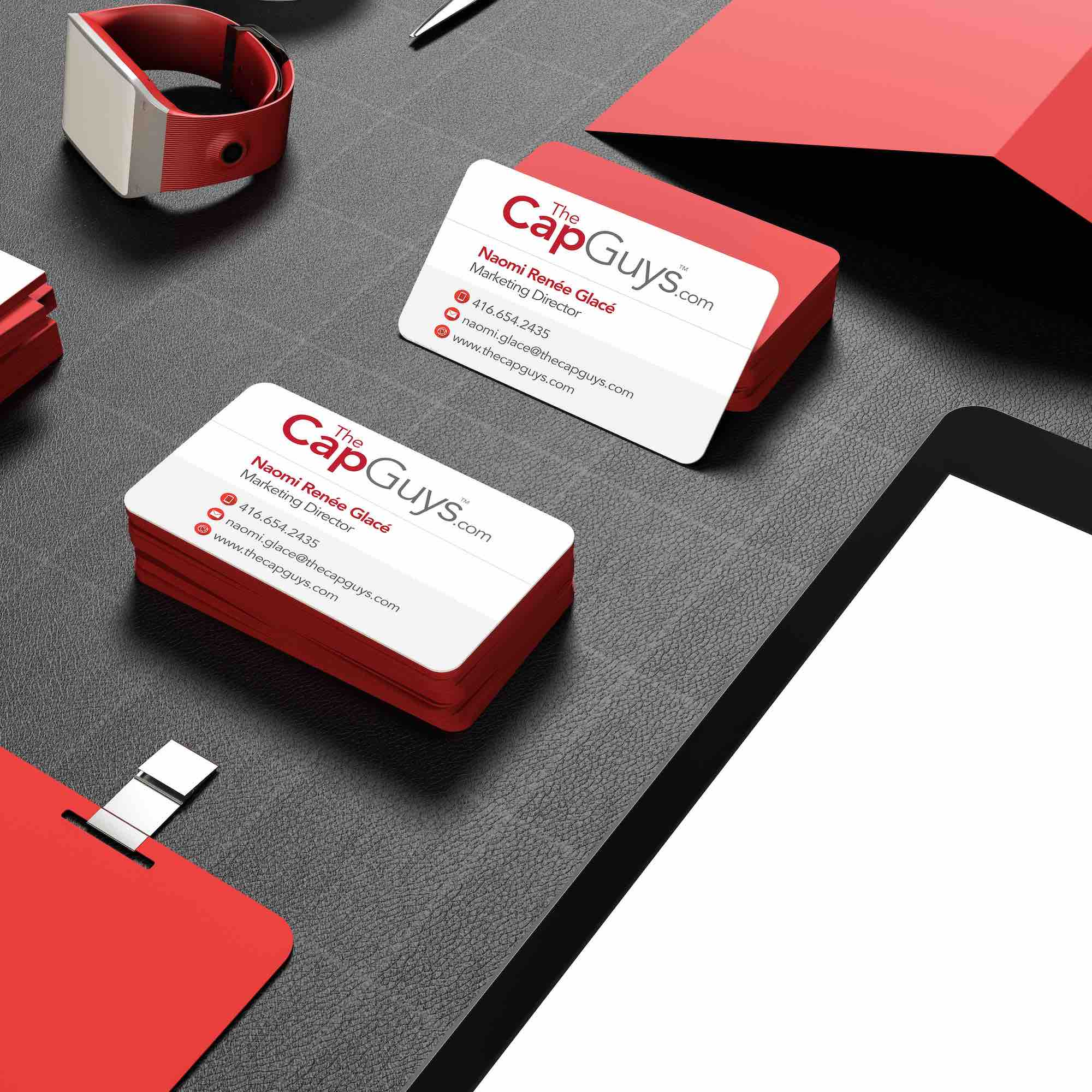 The Cap Guys - Corporate Identity