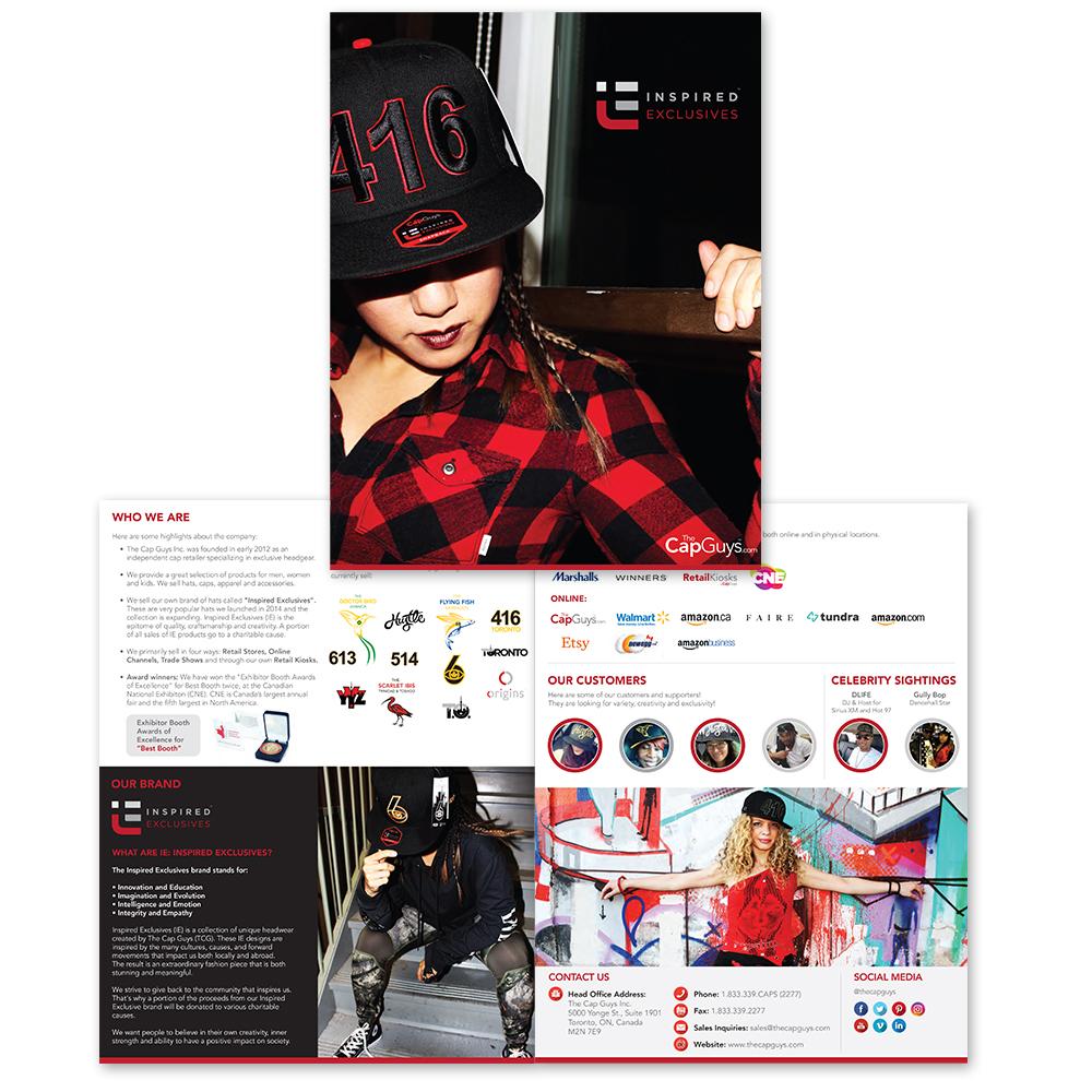 The Cap Guys - Wholesale Sales Kit