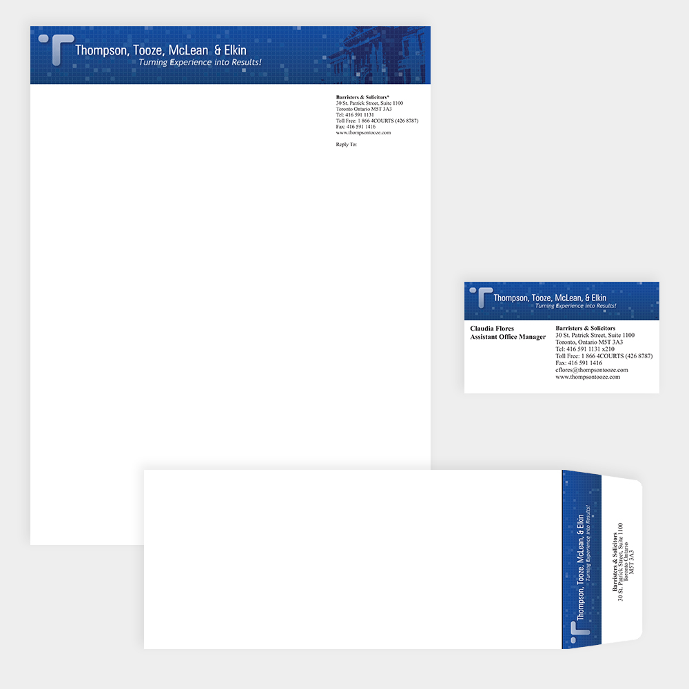 Thompson, Tooze, McLean & Elkin - Corporate Identity