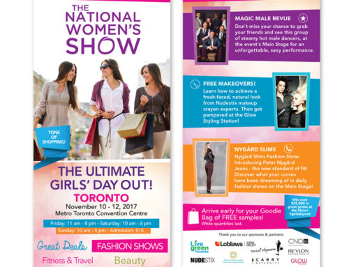 The National Women's Show – Flyers