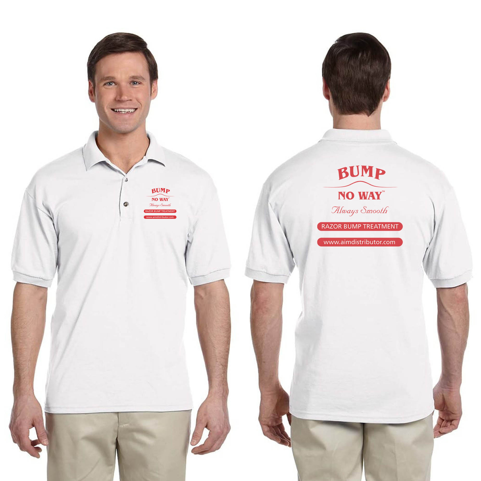 Bump No Way Adult Golf Shirt - Apparel