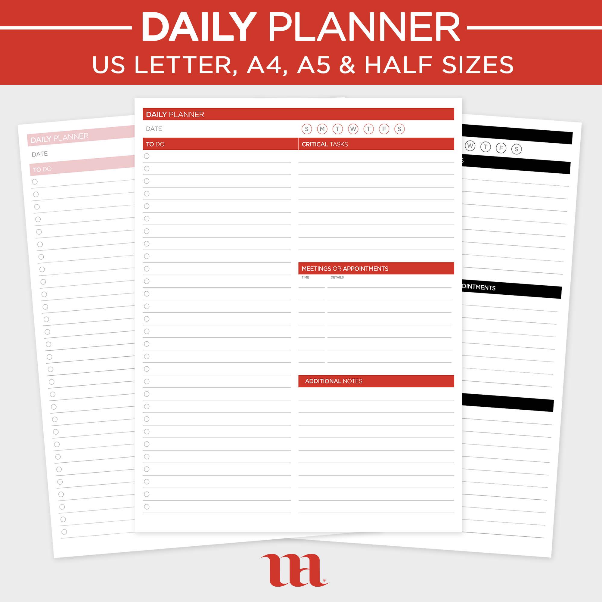 Digital Daily Planner