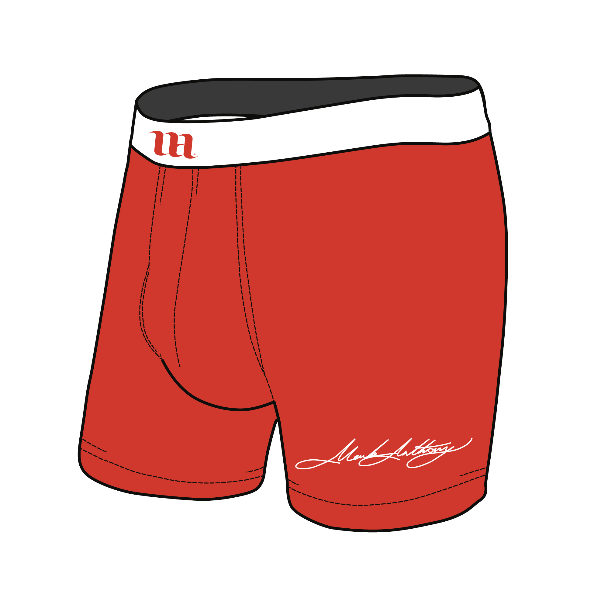 Boxer Briefs Mockup Template Sample Mock Up Main Image