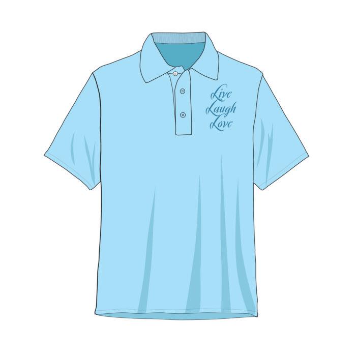 Golf Polo Shirt Template Sample Mock Up Main Image