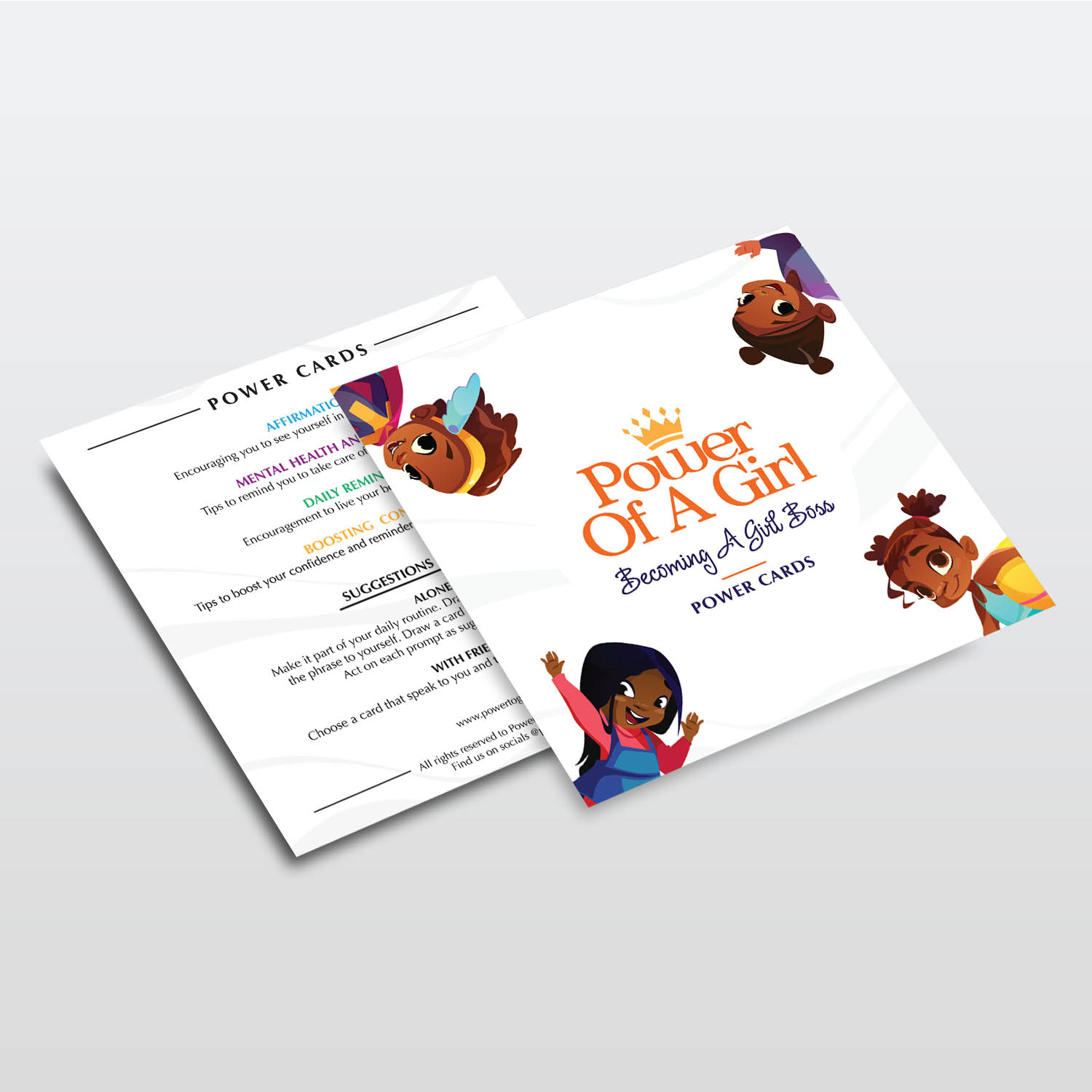 Power Of A Girl - Flyers - Printing