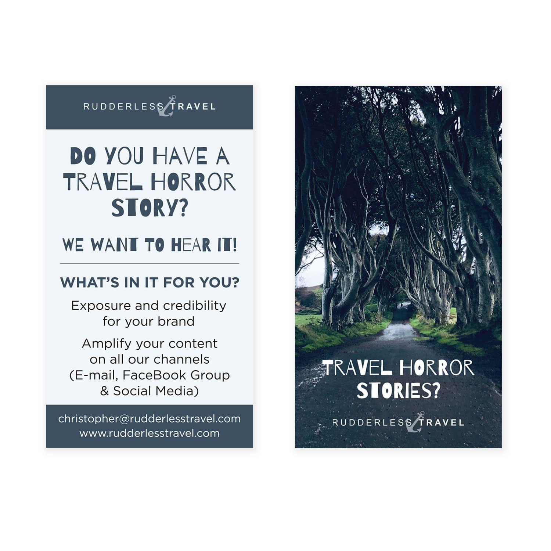 Rudderless - Business Cards - Design & Printing