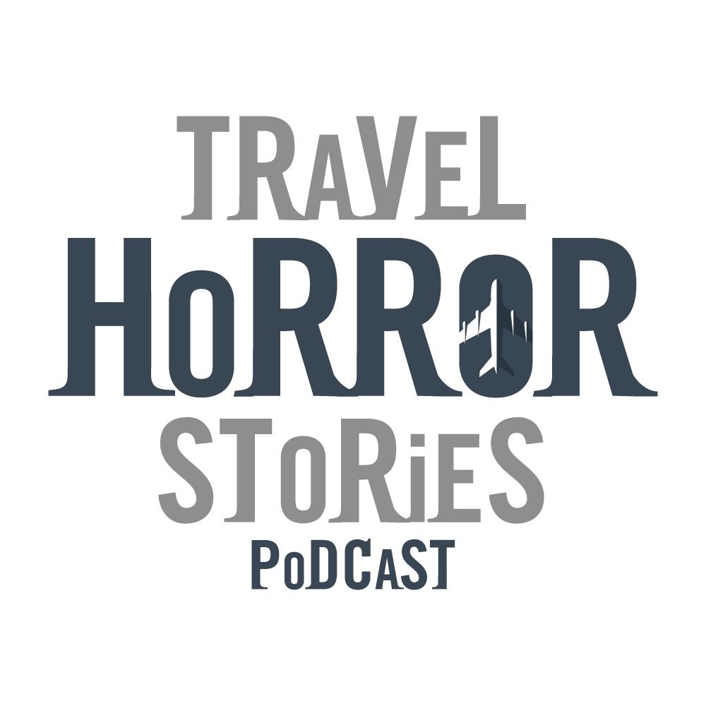 Travel Horror Stories Podcasts - Rudderless Travel - Logo