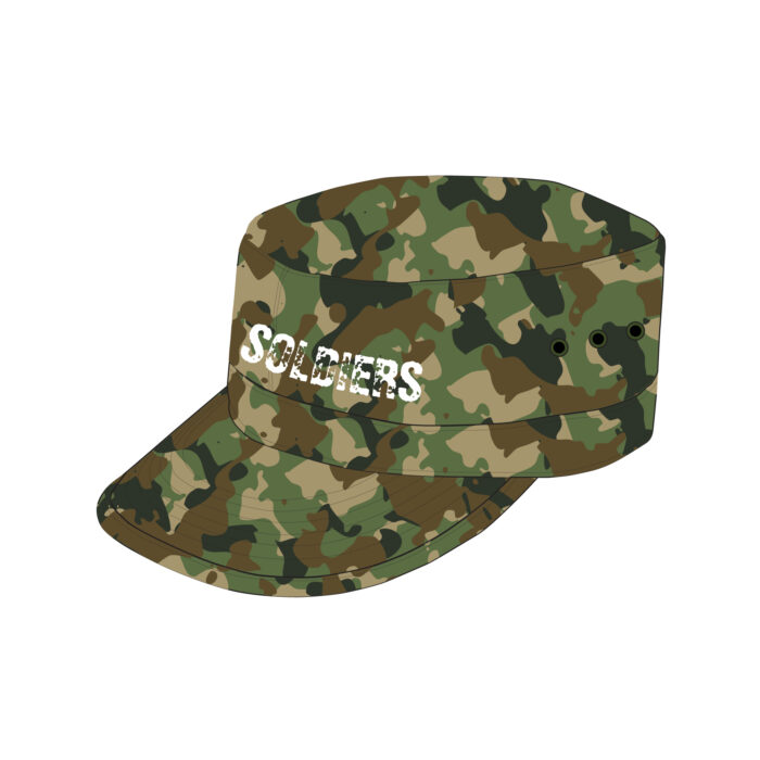 Military Cap Mockup Template Sample Mock Up Castro Army Cadet Hat