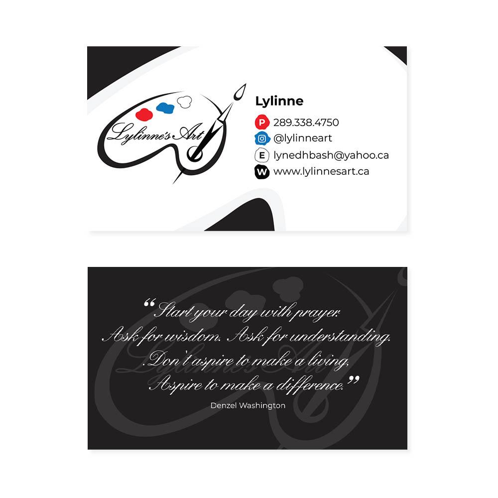 Lylinne's Art- Business Cards