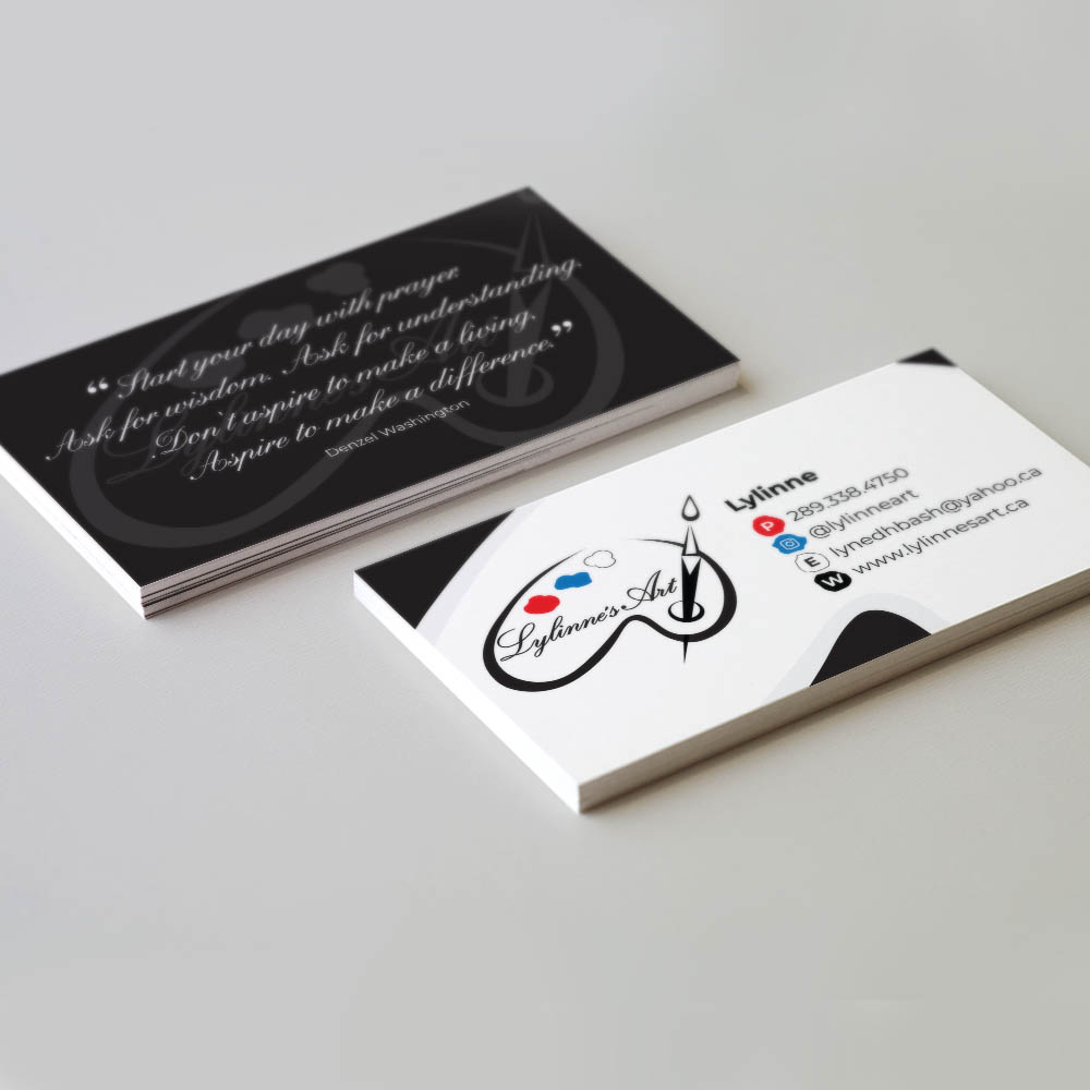 Lylinne's Art- Business Cards