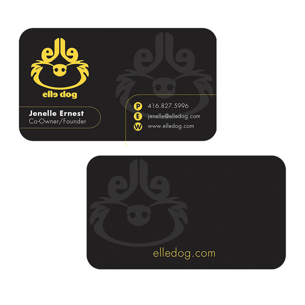 Elle Dog - Business Cards