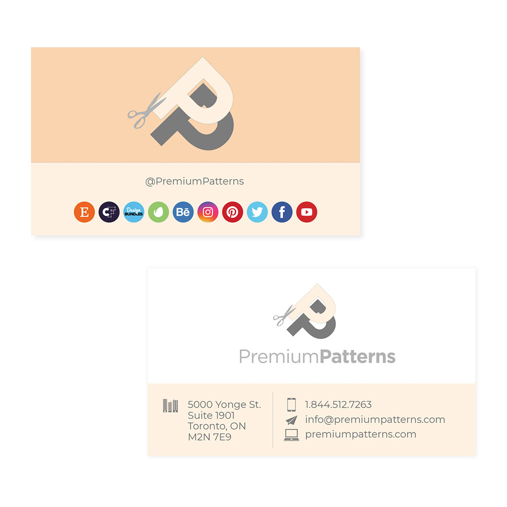Premium Pattens - Business Cards