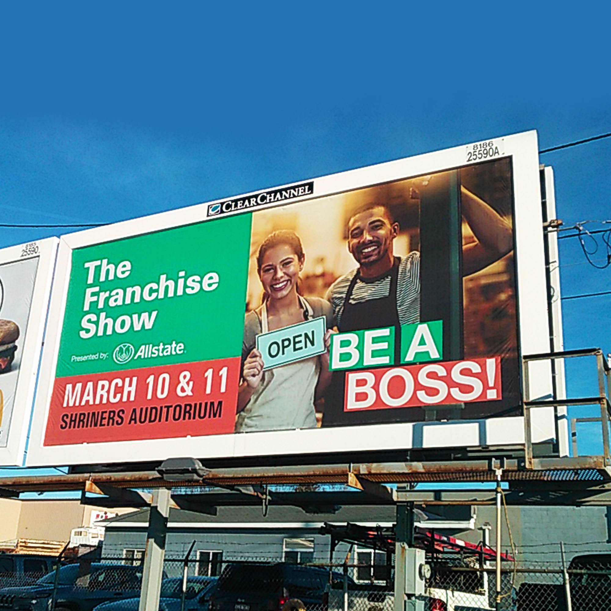 The Franchise Show - Outdoor Billboards