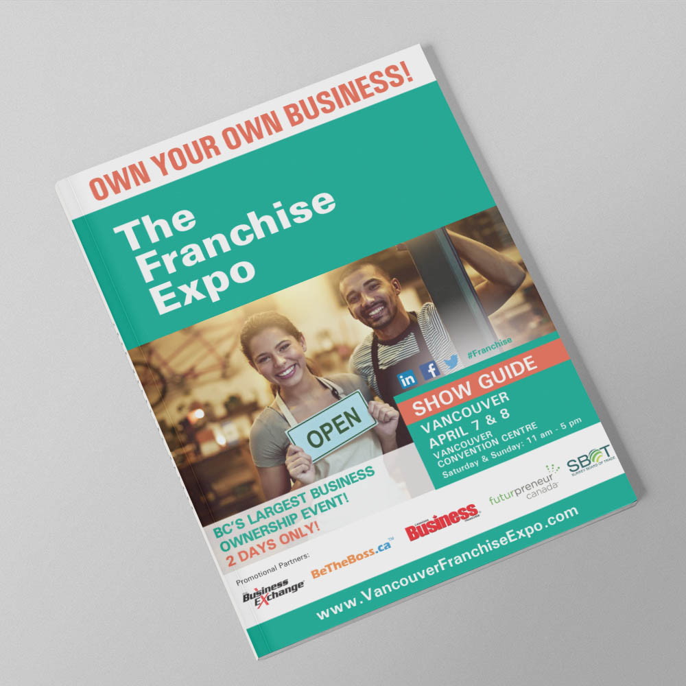 The Franchise Show - Show Guide - Booklets