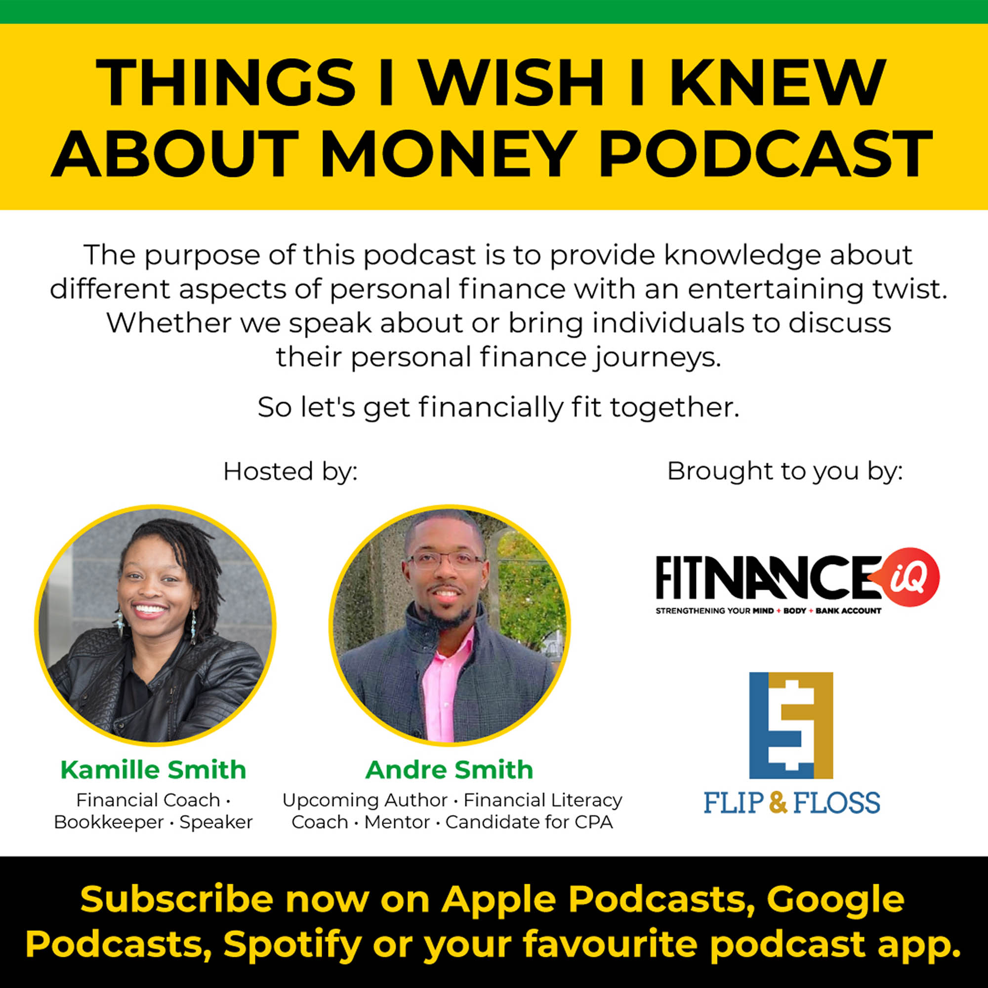 Things I Wish I Knew About Money Podcast - Podcast Cover Art - Podcasts