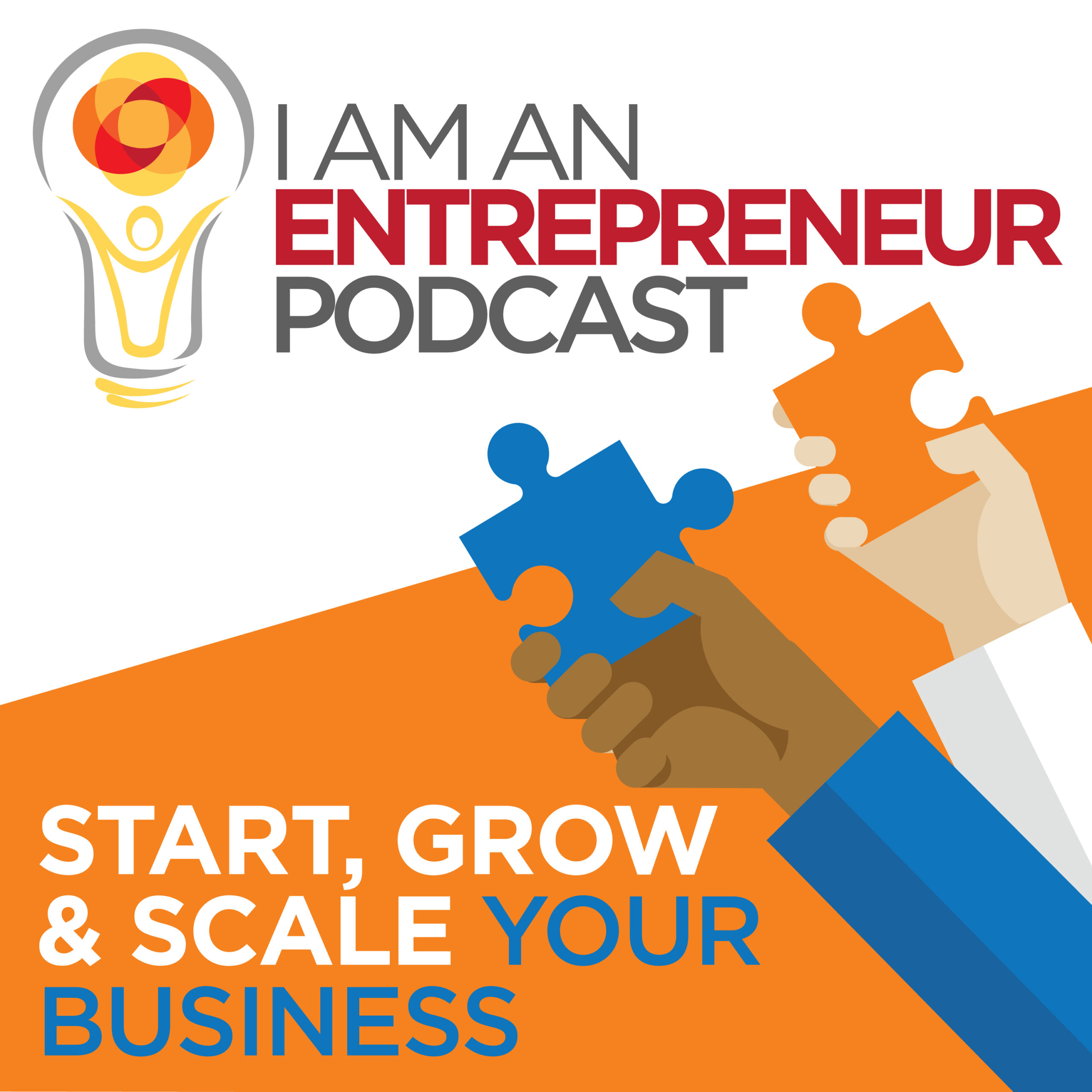 I Am An Entrepreneur - Podcast Cover Art - Podcasts