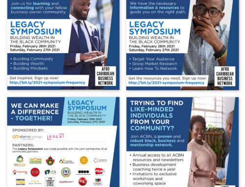 Legacy Symposium – Afro Canadian Business Network (ACBN) – WhatsApp Promo – Social Media Marketing