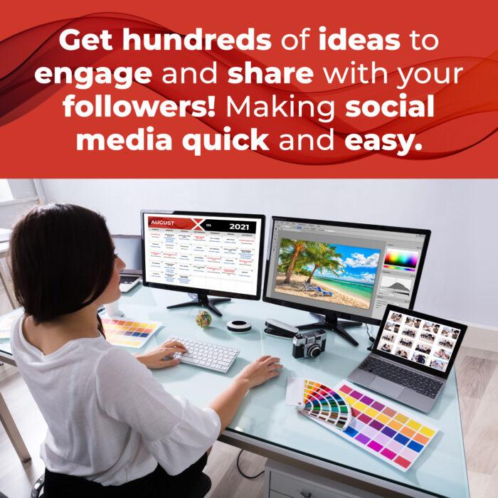Social Media Content Planner & Calendar